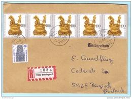 BUND BRD FRG GERMANY - R- Brief  Registered Cover Lettre Einschreiben --- 71032 Böblingen 3  (30796) FFF - [7] Repubblica Federale