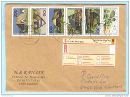 BUND BRD FRG GERMANY - R- Brief  Registered Cover Lettre Einschreiben --- 84032 Landshut   (30798) FFF - [7] Repubblica Federale