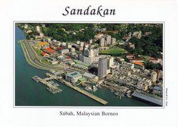 1 AK Malaysia * Blick Auf Sandakan - Die Zweitgrößte Stadt Des Malaysischen Bundesstaates Sabah Auf Der Insel Borneo * - Malaysia