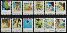 NOUVEAUTE SÉRIE COMPLÈTE 12 TIMBRES 2019 VACANCES - Used Stamps