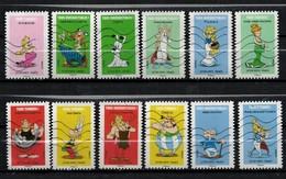 NOUVEAUTE SÉRIE COMPLÈTE 12 TIMBRES 2019 ASTERIX - Used Stamps