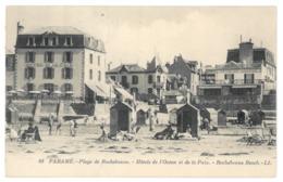 35 Paramé, Plage De Rochebonne. Hotels De L'océan Et De La Paix (10388) - Parame