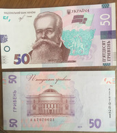 Ukraine 50 Hryvna 2019 Pick New UNC Sign Smolij - Ucraina