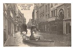 14 CALVADOS - CAEN Inondations, Rue Saint-Jean - Caen