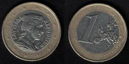 Lettonie 2016 Monnaie Coin 1 Euro Tête De Femme En Habit Traditionnel SU - Lettonie