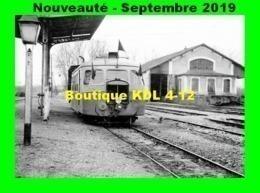 AL 596 - Autorail Billard A 80 D - Gare De L'ISLE-ANGELY - Yonne - CFD - France