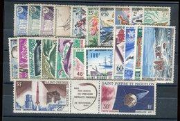 Saint Pierre & Miquelon - Lot De 23 Valeurs Neuf ** Luxe - Cote 183€ - Réf D 23 - Collections, Lots & Séries