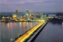 1 AK Malaysia * The Cause-Way At Johor Bahru - Eine Stadt An Der Südspitze Der Malaiischen Halbinsel * - Malaysia