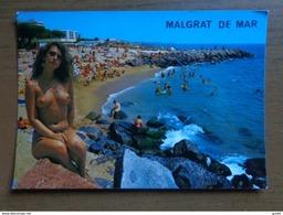 10 Kaarten Met Naakt, Nude, Naked --> Zie Foto's - Cartes Postales
