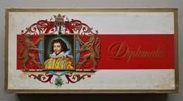 - Boite à Cigares En Bois. Diplomates - - Altri