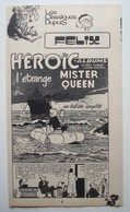 Tillieux. - Félix. - L'étrange Mister Queen. - Récit Complet Spirou 1976. - Spirou Magazine
