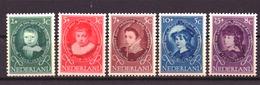 Nederland - Niederlande - Pays Bas NVPH 666 T/m 670 MH * (1955) - Nuevos