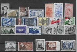 REPUBBLICA 1952 ** MNH LUSSO ANNATA COMPLETA  24 VALORI    B647 - 1946-.. Republiek