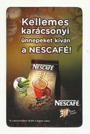 Hungary, Nescafé 3 In 1 Brown Sugar, 2014. - Calendarios