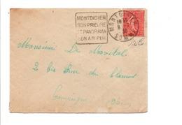 DAGUIN DE MONTDIDIER 1932 - Marcophilie (Lettres)