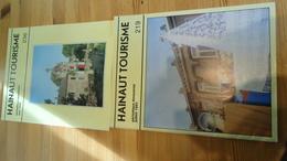 """2 Périodiques """"Hainaut Tourisme"""" Juin 1986 / Juillet 1983 (voir Détails) - Cultural"""