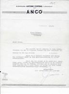 TURNHOUT: ANCO-OUDE DOCUMENTEN-FACTUUR - Imprimerie & Papeterie