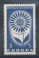 Autriche N°1010** Europa 1964 - 1961-70 Ungebraucht