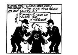 Tintin 9 Cartes - Stripverhalen