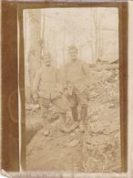Cpa  (photo )-militaria-secteur De Verdun-personnages-militaires-souvenir Du Camp Romain 1916 - War 1914-18