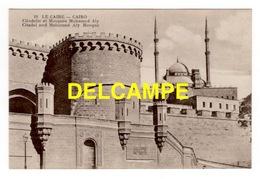 DF / EGYPTE / LE CAIRE / CITADELLE ET MOSQUÉE MOHAMED ALY  -  CITADEL AND MOHAMED ALY MOSQUE - El Cairo