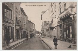 69 - Cours - Grande Rue - Cours-la-Ville