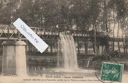Saint Dizier,usine Lerolle,epreuve Officielle De La Passerelle Privée Sur La Marne Au Moyen D Une Charge D Eau(trés Rare - Saint Dizier