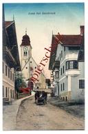 Lans Bei Innsbruck 1917 - Feldpost Mit Zensur Von Igls Nach Seewalchen Am Attersee - Autres