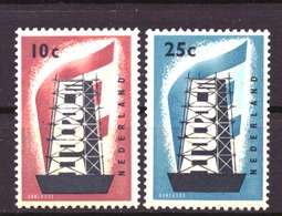 Nederland - Niederlande - Pays Bas NVPH 681 + 682 MH * (1956) - Nuevos