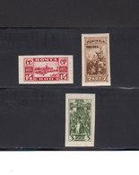 Russie URSS 1925 Yvert 348 / 350 * Non Dentelés Neufs Charnière. Comm. 20eme Annee Emeute 1905. (2034t) - 1923-1991 USSR