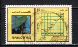 IRAQ - 1985 - Satellite Dish And Graphs - USATO - Iraq