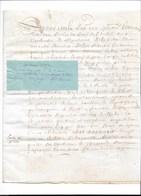Jouy Sur Eure, Croisy Sur Eure, Paroisse De Gardricourt, Parchemin 1662  4 Pages TTB état - Manoscritti