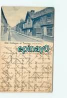 ROYAUME UNIS - ANGLETERRE - WORTHING - Old Cottages At Tarring En 1901 - Worthing