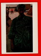 Klychev Portrait Du Héros Du Travail Socialiste Turkménien Pain Turkmène échelles De Grain Le Réalisme Social - Turkmenistan
