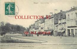 33 ☺♦♦ BLAYE - COURS Du PORT - TONNEAUX Et BANQUE De BORDEAUX - Blaye
