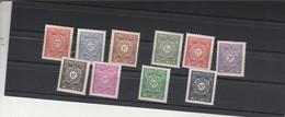 Algérie  Yvert Taxe 35 à 40 + 42 + 43 + 45 + 47 * Neufs Avec Charnière - Algerije (1924-1962)