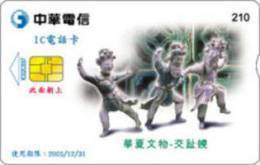 = TAIWAN - IC 02C037  =  MY COLLECTION - Taiwan (Formosa)