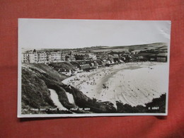 United Kingdom > Isle Of Man  RPPC  The Bay  Stamp  & Cancel    Ref 3785 - Isle Of Man