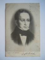 Vincenzo Bellini Catania 1801 Compositeur Componist Edit A.H.-J. Gelopen Circulée 1903 - Chanteurs & Musiciens