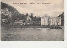 Chateau Marche-les-Dames ( Namur ) ,Détruit Le 15 Août 1914 ,( Le Chateau Des Prince D'Arenberg ) - Namur
