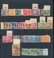 SAAR SARRE YVERT 196/215 X2 MNH - 1947-56 Occupation Alliée