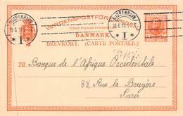 DANEMARK - Entier Postal 10 ORE - Interi Postali