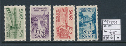 SAAR SARRE YVERT 244/47 MNH - 1947-56 Occupation Alliée