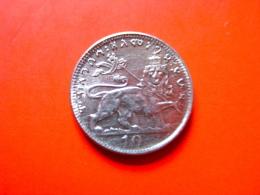 10 Matona 1923 EE (Haile Selassie Coronation) - Ethiopia