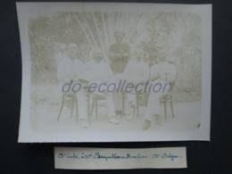 VIETNAM SAIGON Photo C. 1880 Docteur Coche Beguin Buquillon Bonifacio Photographie XIX 19e Indochine Indochina Asie Asia - Fotos