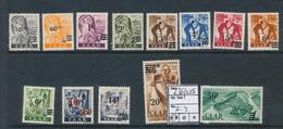 SAAR SARRE YVERT 216/228 MNH - 1947-56 Occupation Alliée