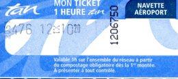 Navette Aéroport De Nantes - Gare SNCF De Nantes (Nantes - Loire Atlantique - France) - Busse