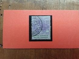 REGNO - Enti Parastatali - N. 66 Timbrato + Spese Postali - 1900-44 Victor Emmanuel III.