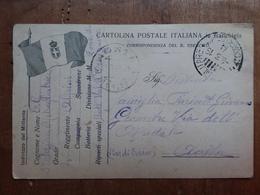 REGNO - Cartolina Postale In Franchigia - Con Bandiera - Guerra 1915/19 + Spese Postali - 1900-44 Vittorio Emanuele III