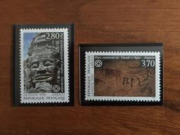 Timbres De Service UNESCO - Y&T 110 à 111 - 1993 - Neuf ** - Mint/Hinged